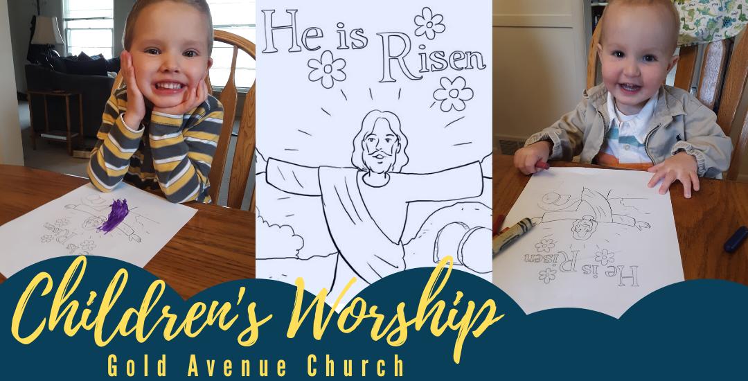 Children's Worship 4.19.20