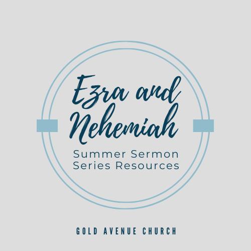 Summer Sermon Series Resources
